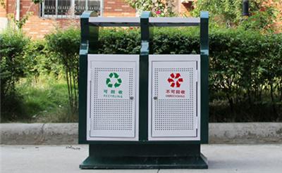 六盘水钢板分类垃圾桶