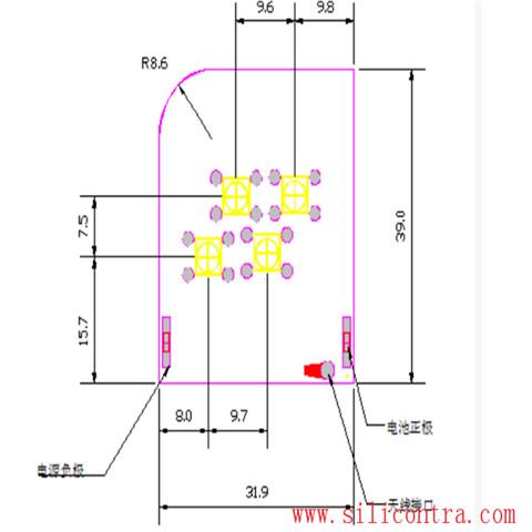 无线发射模块cc1150