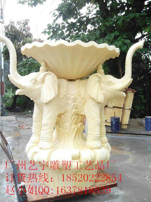 砂岩喷泉-欧式雕塑喷泉
