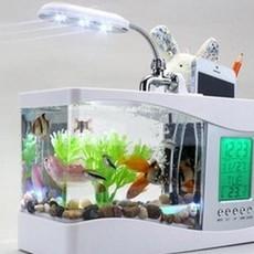 透明亚克力塑料鱼缸  乌龟缸 水族箱迷你鱼缸