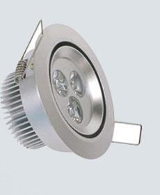供应申安照明led筒灯射灯SA-T012-3x1W节能正品灯具