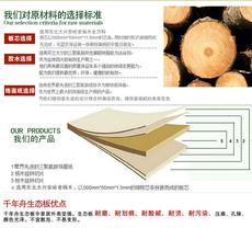 千年舟板材 E0级17mm 实木免漆板 生态板 细木工板 家具衣柜体板