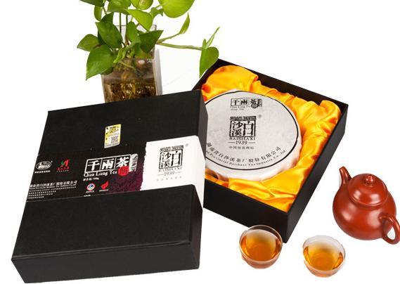 供应白沙溪千两茶饼价格–中国网库图片