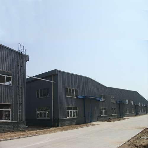 钢结构厂房施工方案华信