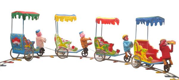 保定新型游樂設備,保定兒童游樂設備廠猴拉車