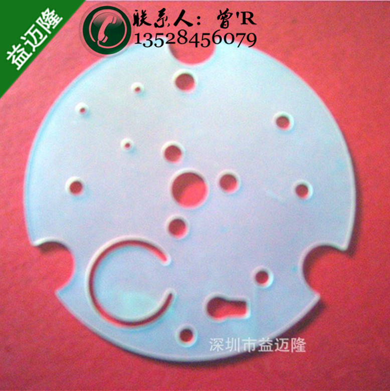 SGS环保超透明硅胶垫片 玩具礼品电子电器阻燃硅胶密封圈防滑防磨擦硅胶脚垫绝缘密封件
