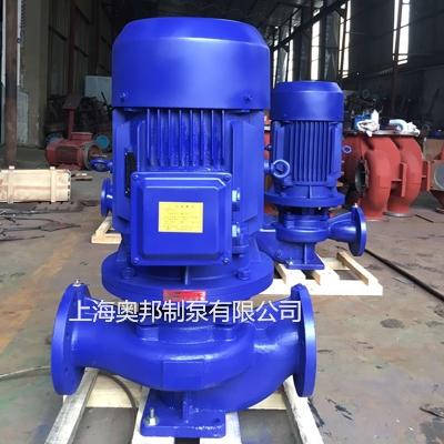 上海奥邦TD管道泵