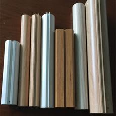 铝圆管 凹槽铝圆管 广东乐斯尔品牌铝天花吊顶铝圆管厂家