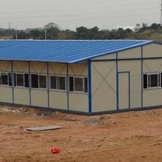 山东厂家直销出口埃塞俄比亚工地保暖防火彩钢活动房
