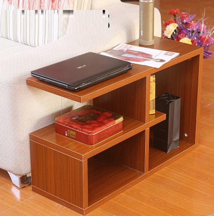 厂家直销现代简约茶几客厅储物边柜沙发边角几时尚小户型茶台板式图片