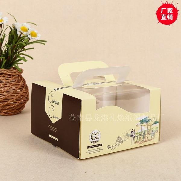 厂家直销多规格开窗生日蛋糕盒 高档食品级蛋糕烘焙包装纸盒