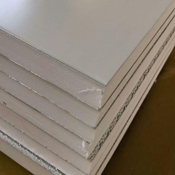 康杰 彩 刚复合保温风管 批发价 单面彩钢复合保温风管厂家