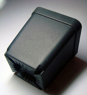 供应小方盆多肉花盆出口塑料 小黑方最好的塑料