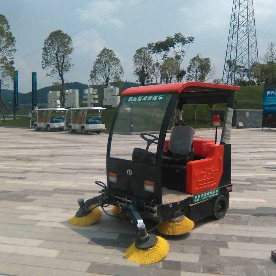 陕西普森电动驾驶式扫地车广场小区厂区环卫扫地车PS-J1860BP