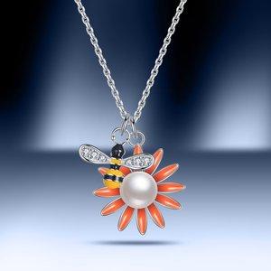 北海珍珠批发淡水珍珠项链S925银