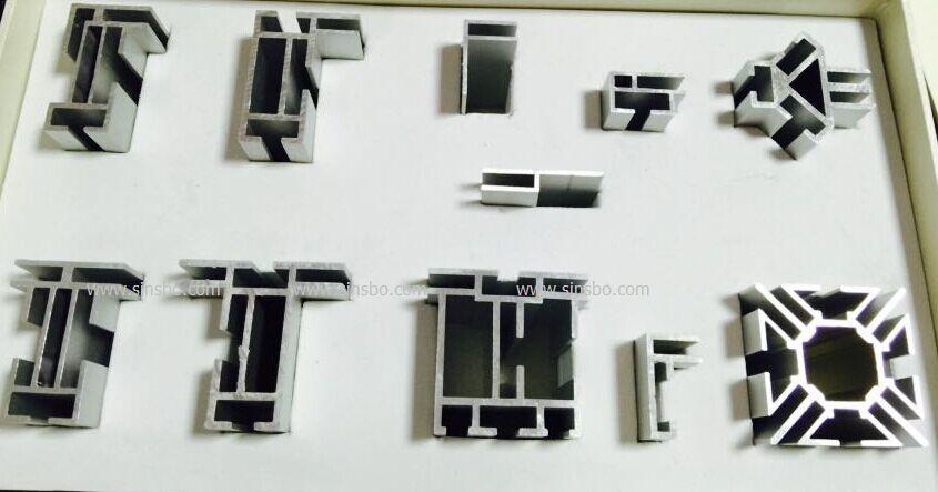 卡布灯箱铝型材生产厂家 单面双面8060拉布灯箱 弧型灯箱铝型材批发工厂制作加工