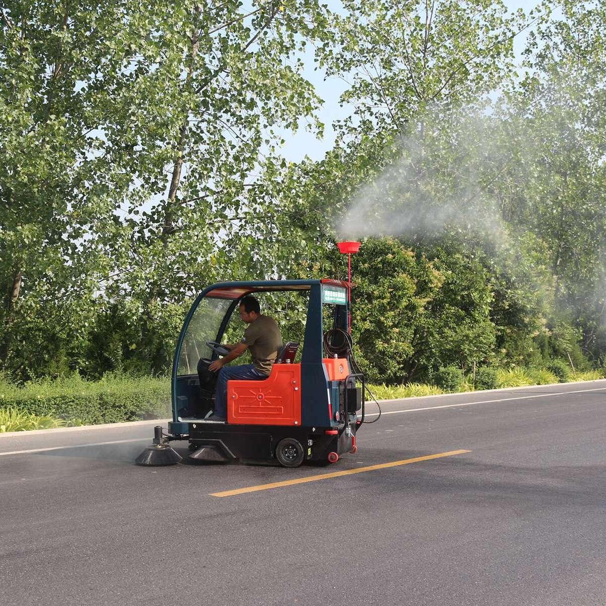 山西普森电动智能驾驶式扫地车PS-J1860AB
