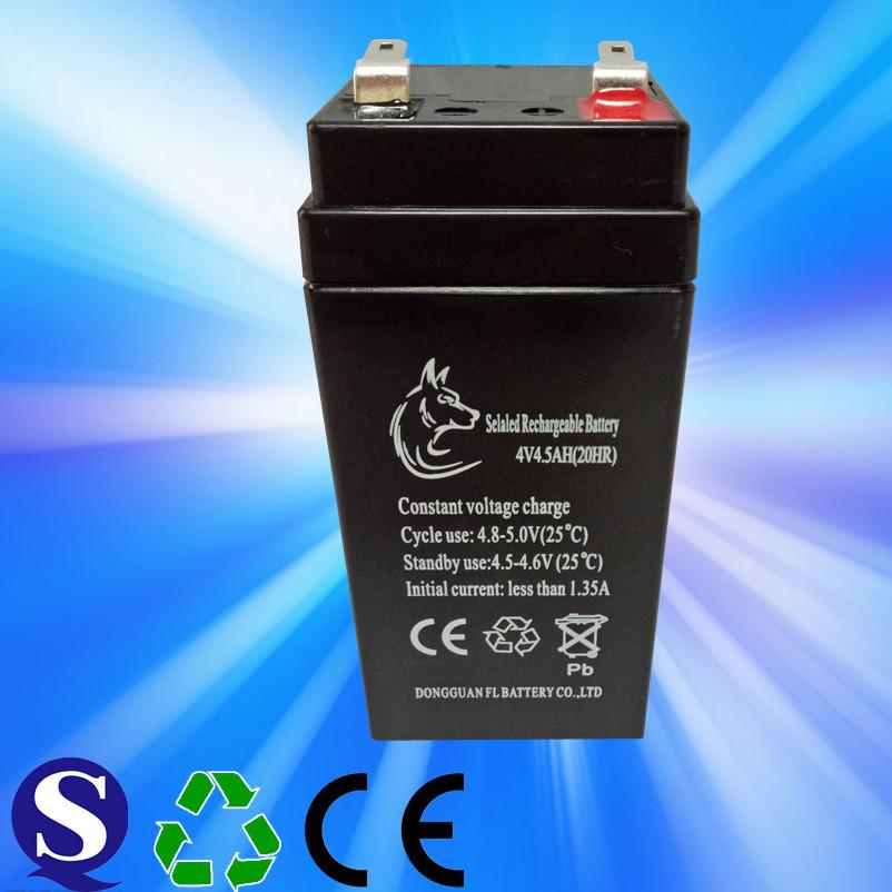工厂直销 4V4AH 电子称蓄电池 免维护铅酸蓄电池