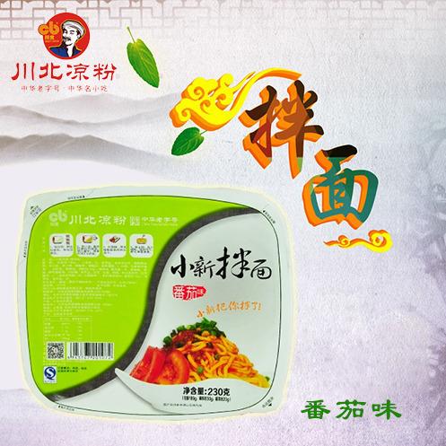 供应 【川北】 小新拌面 番茄味 230g