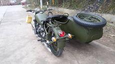 侧三轮摩托车 仿古 复古边三轮 跨子 垮子