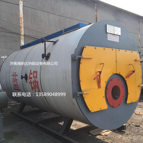 出售全新蓝天锅炉6吨燃气蒸汽锅炉  辅机资料齐全