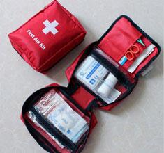 户外用品便携自救包家庭车载旅游旅行急救包 缝线包