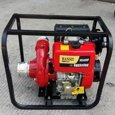 4寸3寸电启动柴油高压自吸水泵选翰丝流量大省油HS40HP厂家直销2寸进口德国原装动力低价卖