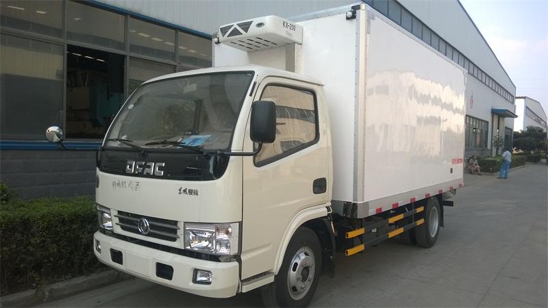 东风小型冷藏车价格1.5吨国四冷冻车