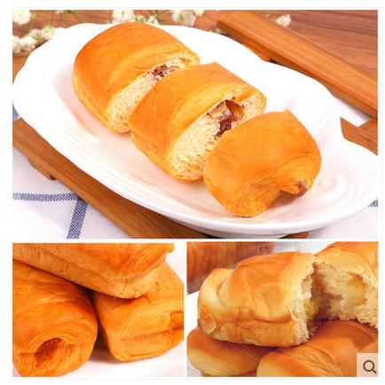麦得隆 纤层可颂营养早餐糕点心夹心手撕面包零食800g