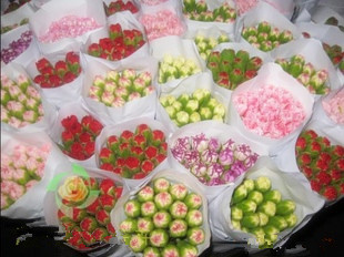 鲜切花批发 昆明鲜花批发 康乃馨鲜花供应