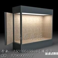 木制烤漆通柜博物馆通柜文物展示柜玻璃古玩通柜定制工厂YT-1606231613