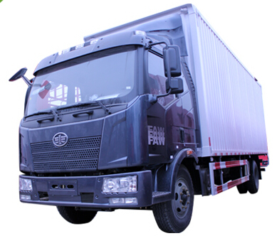 一汽解放j6L國五6.8米廂式貨車