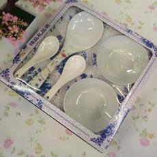 供应 密安饭勺 青花瓷组合套装