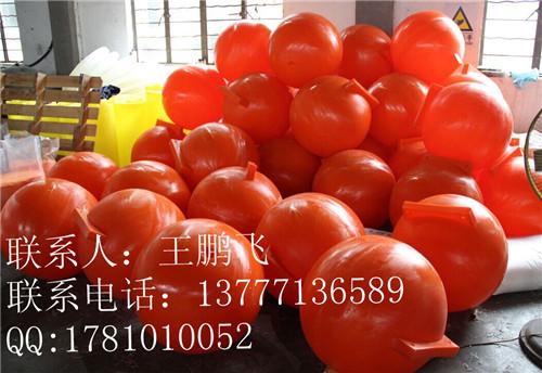 清淤管浮筒 带通孔的浮筒牢固耐久,海上PE浮球