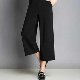 供应 夏季修身八分裤