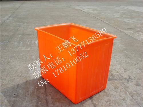 供应120L塑料方桶/垃圾桶厂家