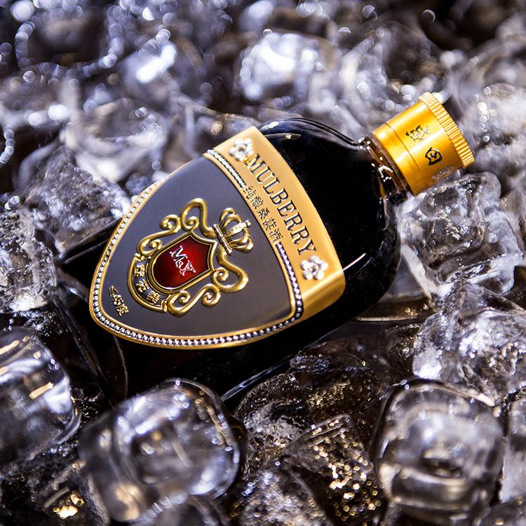 窖藏桑果酒100ml 桑葚果酒45度 养生桑果酒露酒厂家直销 桑葚酒桑果饮料