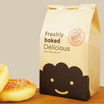 供应 烘培包装6片装吐司袋面包纸袋