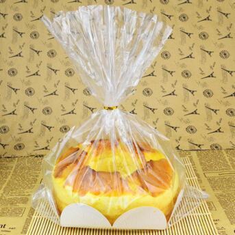 供应 简易吐司面包袋 透明西点包装袋10套