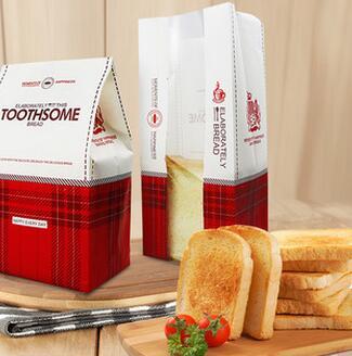 供应 烘焙包装牛皮纸袋一次性吐司袋面包防油开窗西点包装袋