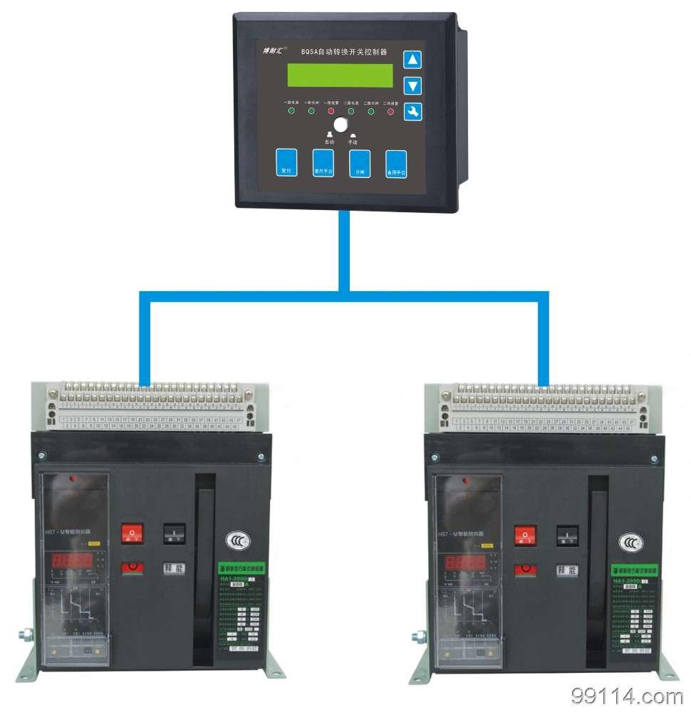 自动转换开关控制器液晶显示BQ5A不用外接直流