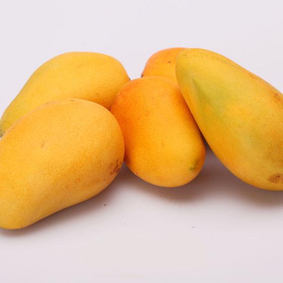 小台芒果口感十足核小肉多皮薄