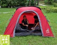 供应棕榈滩户外帐篷 双人双层 铝合金杆 防暴雨蚊虫