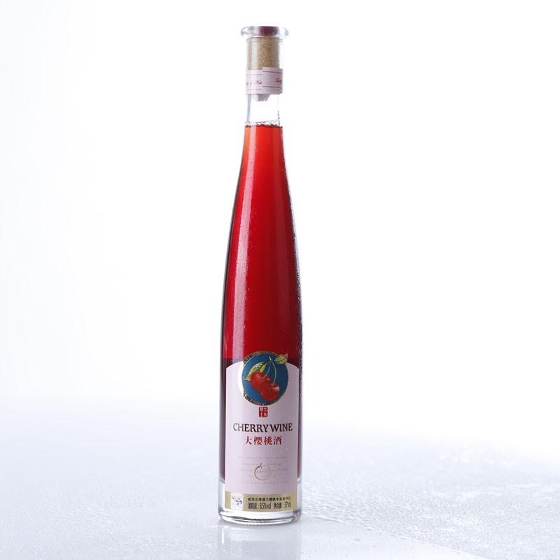 供应大樱桃酒 甜型酒375ml 高品质果酒热销推荐