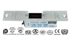 力士坚OC3223通电上锁 力士坚电锁口 OC系列玻璃锁