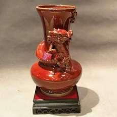 盘龙瓶--东方瓷辉现代精品民族风精品摆件送礼收藏首选