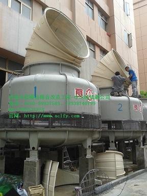 江门中央空调机房冷却水塔噪音降噪治理工程