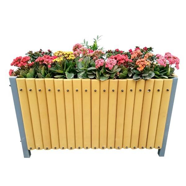 供应 新型透气环保户外花箱园林花卉订制花箱