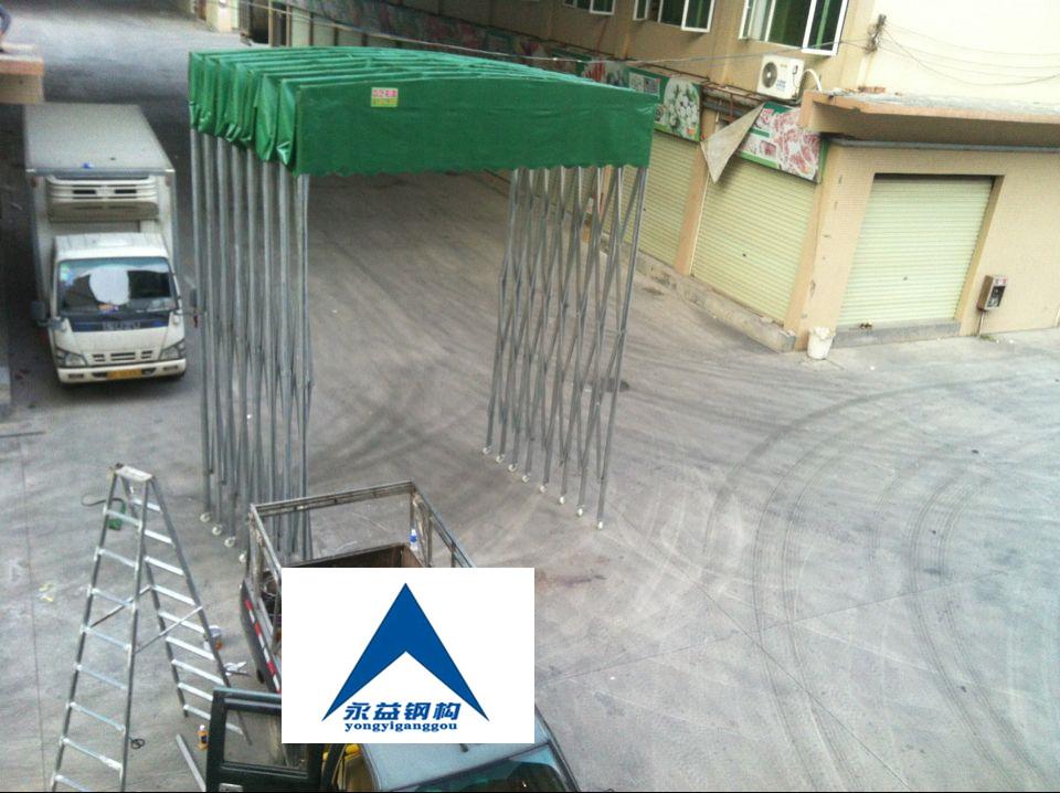 [厂家直销]推拉活动雨棚帐篷,伸缩蓬,可移动折叠蓬