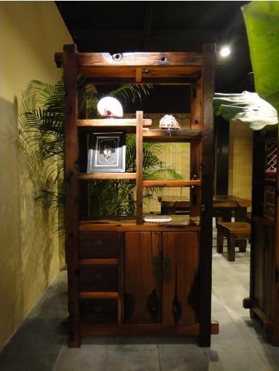 各种原生态老船木家具定制与购买